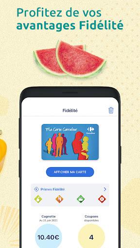 Carrefour : drive, livraison & carte de fidu00e9litu00e9 apktram screenshots 3