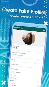 Fake Chat for WA Messenger 2