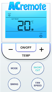 Remote For Air Conditioners For Pc (Windows 7, 8, 10 And Mac) Free Download 1