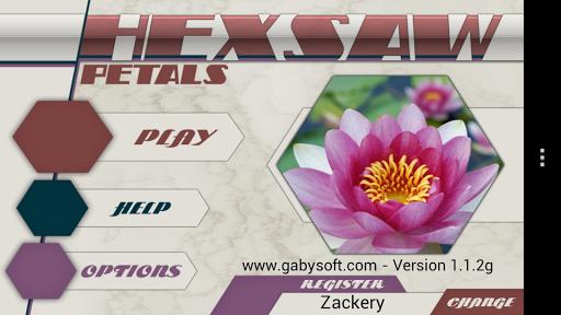 hexsaw - petals screenshot 1