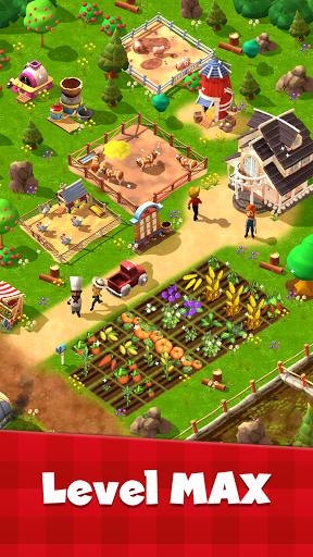 Happy Town Farm Games - Farming & City Building 1.4.0 screenshots 2