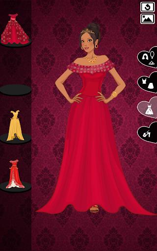 princess elena - royal dressup screenshot 2