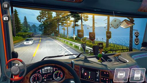 Euro Truck Parking Simulator 2021: 3d parking Game Apkfinish screenshots 14