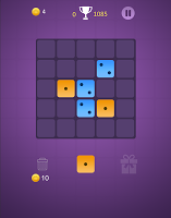 Dominoes puzzle - merge blocks with same numbers