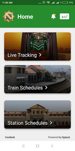 Pak Rail Live - Tracking app of Pakistan Railways  Screenshots 2