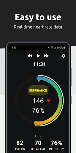 FITIV Pulse: Heart Rate Monitor + Workout Tracker android2mod screenshots 4