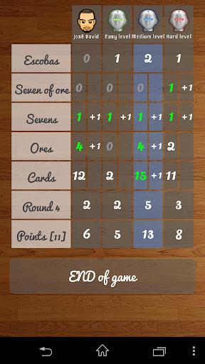Escoba / Broom cards game 1.3.4 Screenshots 5
