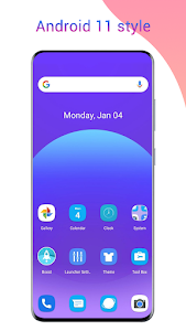 Cool R Launcher, launcher for Android™ 11 UI theme 2.1.1