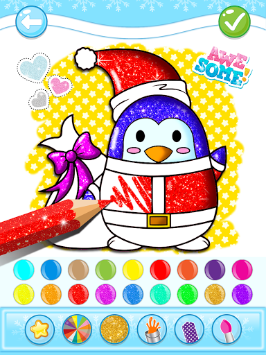 Christmas Coloring Game - Learn Colors  screenshots 16