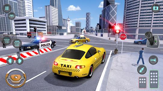 City Taxi Driving simulator: PVP Cab Games 2020 6