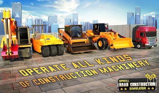 Hill Road Construction Games: Dumper Truck Driving apkdebit screenshots 8