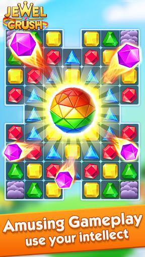 Jewel Crushu2122 - Jewels & Gems Match 3 Legend  screenshots 4