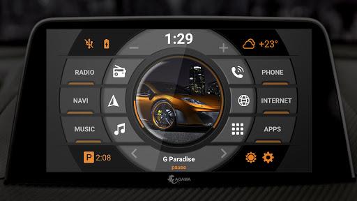 AGAMA Car Launcher 2.6.0 Screenshots 3