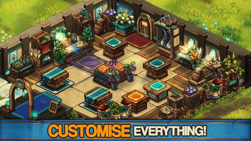 Tiny Shop: Cute Fantasy Craft, Design & Trade RPG screenshots 4