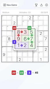 Killer Sudoku - Free Sudoku Puzzle, Brain Games 1.11.0 screenshots 2