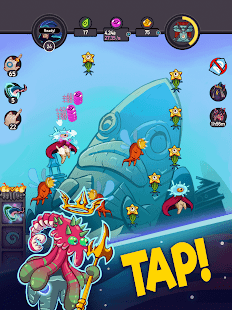 Tap Temple: Monster Clicker Idle Game Screenshot