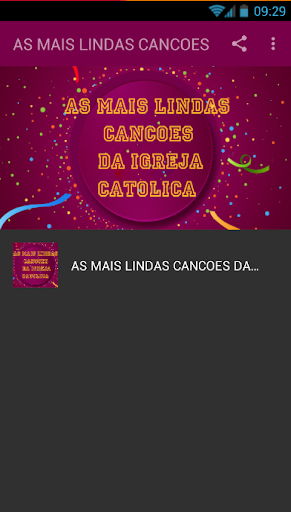 Foto do AS MAIS LINDAS CANCOES DA IGREJA CATOLICA