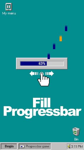 Progressbar95 - easy, nostalgic hyper-casual game Apkfinish screenshots 4