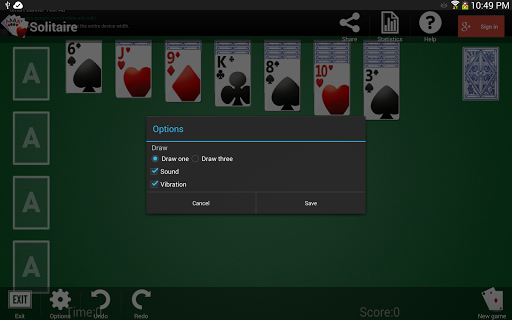 Solitaire 1.3.13 screenshots 14