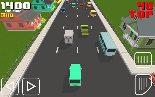 Blocky Road Racer 1.0 screenshots 1