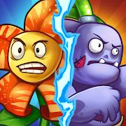 Zombie Defense - Plants War - Merge idle games