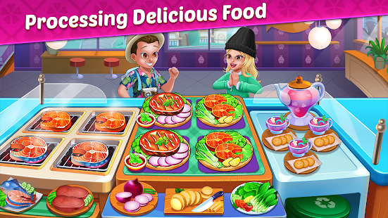 Cooking Tasty: The Worldwide Kitchen Cooking Game 1.0 APK + Mod (Unlimited money / Unlocked) for Android