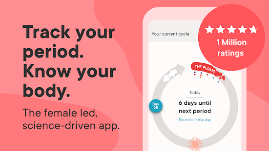 Clue Period Tracker, Cycle & Ovulation Calendar Screenshot