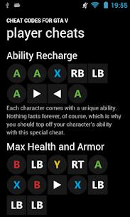 Free Cheat Codes for GTA V 1