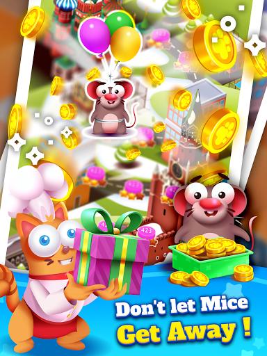 Kitten Games - Bubble Shooter Cooking Game apkmr screenshots 14