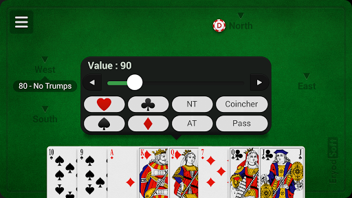 French Coinche - Free 3.1.6 Screenshots 19