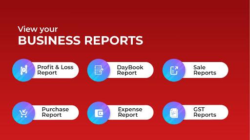 Invoicing, Billing, GST, Inventory, Accounting apktram screenshots 6