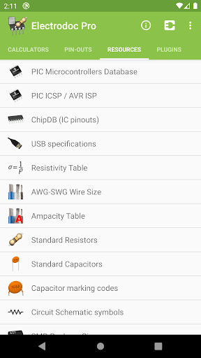 Electrodoc Pro screen 2