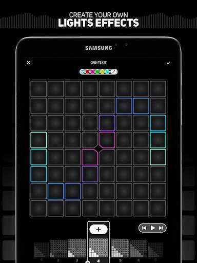 SUPER PADS LIGHTS - Your DJ app  Screenshots 14