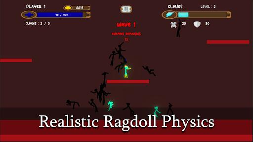 Ragdoll Clone Warfare: Stickman Ragdoll Fight modavailable screenshots 3