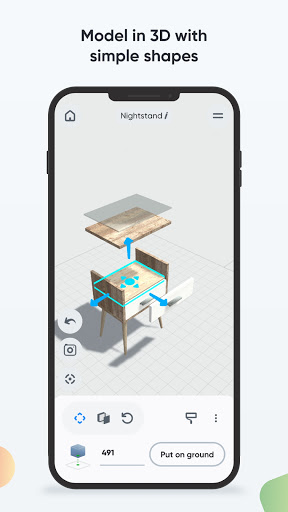 Moblo - 3D furniture drawing and augmented reality  Screenshots 3