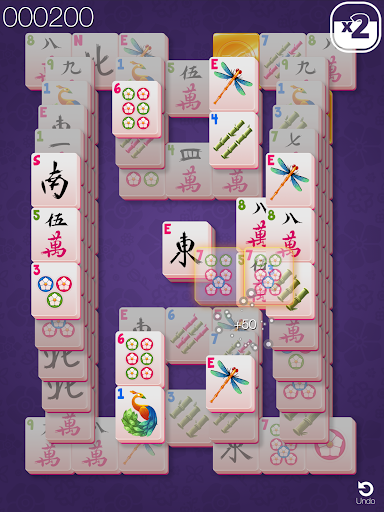Gold Mahjong FRVR - The Shanghai Solitaire Puzzle screenshots 9