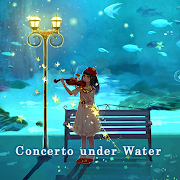 Fantasy Wallpaper Concerto under Water Theme