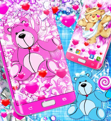 Teddy bear live wallpaper apktram screenshots 6