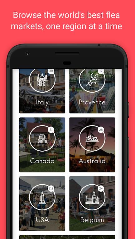 تطبيق لمعرفة أماكن وأوقات الأسواق الشعبية بالقرب منك