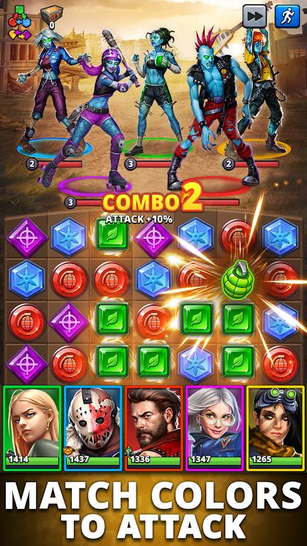 Puzzle Combat: Match-3 RPG poster 2
