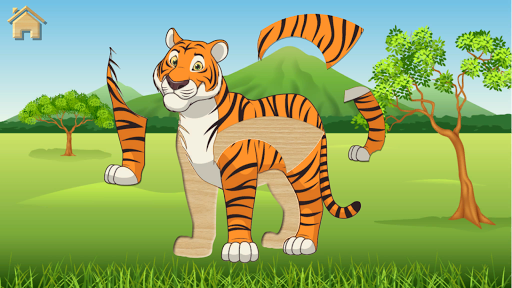 Kids Puzzles, Funny Animals #2 (full game)  screenshots 2