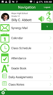 StudentVUE Screenshot