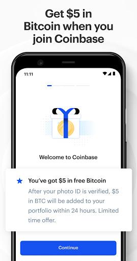Coinbase – Buy & Trade Bitcoin, Ethereum & more  screenshots 1