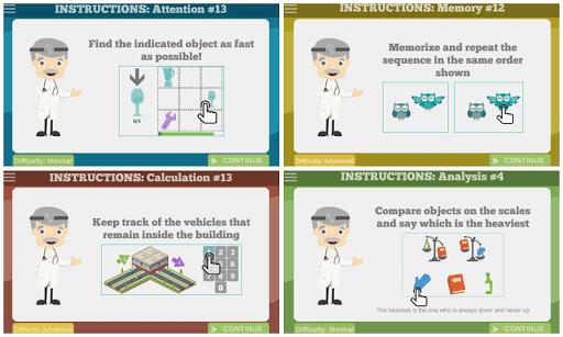 60 Brain Games: Free Mental Training! 56 screenshots 10