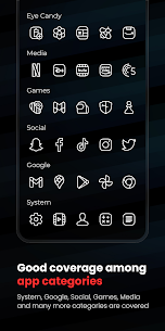 Caelus White Icon Pack APK (PAID) Download Latest 4
