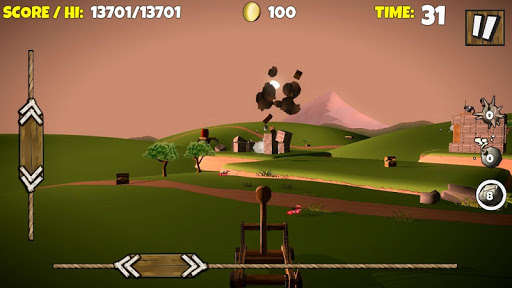 Catapult Shooter 3Dud83dudca5: Revenge of the Angry Kingud83dudc51 apkpoly screenshots 6