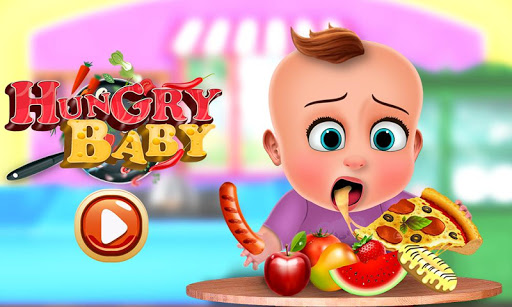 Hungry Baby - Tuto Kitchen 1.5 screenshots 1