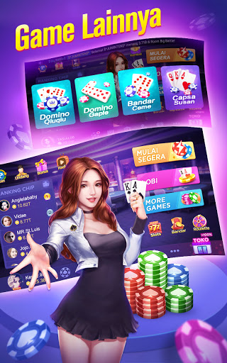 Poker Pulsa-Texas Poker Online (Free) apkdebit screenshots 9