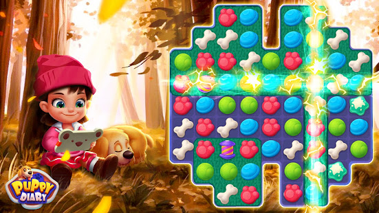 Puppy Diary: Popular Epic match 3 Casual Game 2021 screenshots 5