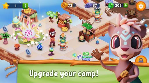 savannah merge! wild animal park & safari zoo game screenshot 1